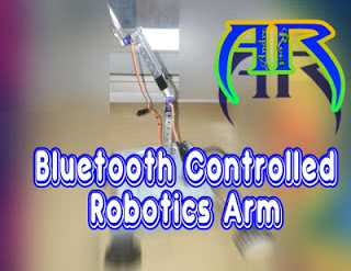 How to Make Bluetooth Controlled Robotic Arm We Observed Sourabh Kumar