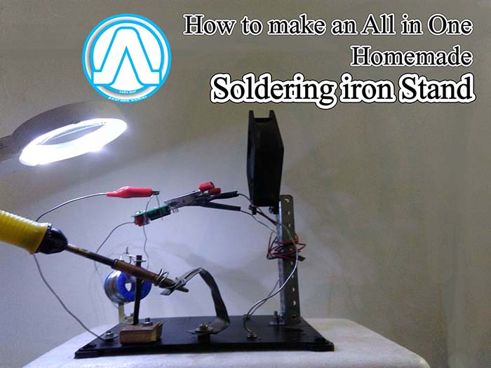 How to Make an All in One Homemade Soldering Stand We Observed