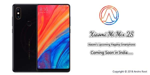 Xiaomi Mi Mix 2s in India Price Specifications