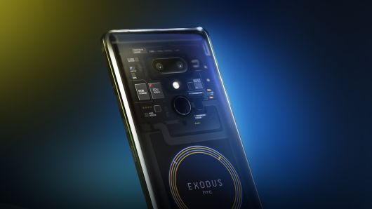 HTC Exodus 1 Blockchain Phone With Zion Cryptocurrency Wallet