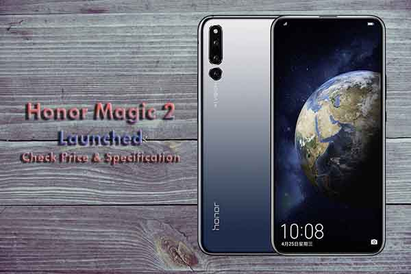 Honor Magic 2 Price and Specification