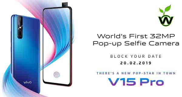 Vivo V15 Pro Price in India and Specification Leaked