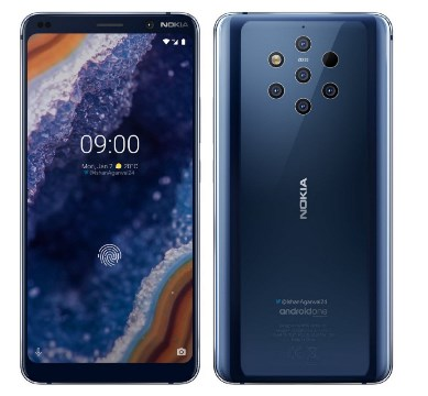 Nokia 9 Pureview Specifications & available Details