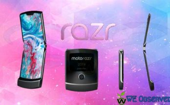 Motorola Razr Foldable: Moto Razr 2019 Specification Price